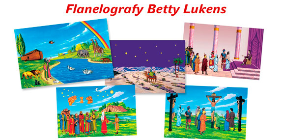 Flanelografy Betty Lukens